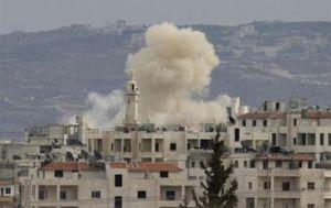 Israel bombardeo objetivos de Hezbola en Dmasco