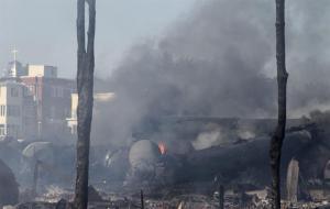 Suben a 37 número de muertos tras accidente de tren en Quebec