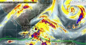 Tormenta tropical Boris amenaza con fuertes lluvias