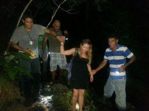 Se extravió por siete horas en Cuajiniquil de Santa Cruz, Guanacaste