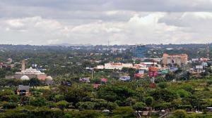 Imagen panorámica de la Ciudad de Managua