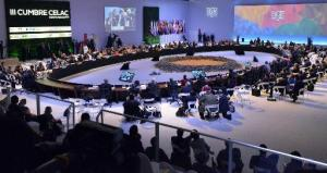 La sesión de clausura de la Cumbre de Celac el 29 de enero de 2015 (AFP