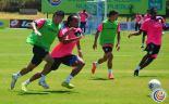 """La """"sele"""" entrenó completa de cara al partido ante Paraguay"""
