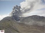 Volcán Turrialba ha mantenido actividad en los últimos días